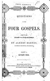 Questions on the four Gospels (Acts of the Apostles, Epistle to the Romans, First epistle to the Corinthians, Epistle to the Hebrews).