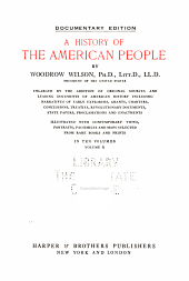 A History of the American People: Volume 10