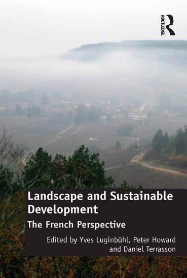 Landscape and Sustainable Development PDF