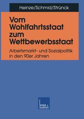Vom Wohlfahrtsstaat zum Wettbewerbsstaat: Arbeitsmarkt- und Sozialpolitik in den 90er Jahren