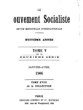 Le mouvement socialiste: Volume 18