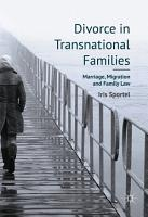 Divorce in Transnational Families PDF