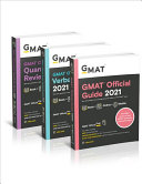 GMAT Official Guide 2021 Bundle  Books   Online