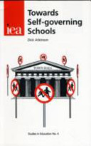 Towards Self-governing Schools