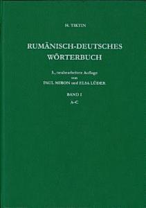 Rum  nisch Deutsches W  rterbuch PDF
