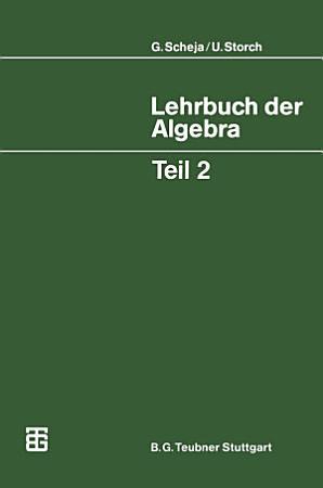 Lehrbuch der Algebra PDF
