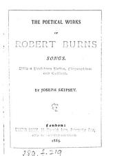 The poetical works of Robert Burns, with a prefatory notice by J. Skipsey: Volume 2