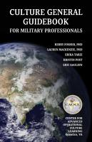 Culture General Guidebook for Military Professionals PDF