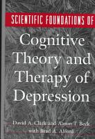 Scientific Foundations of Cognitive Theory and Therapy of Depression PDF
