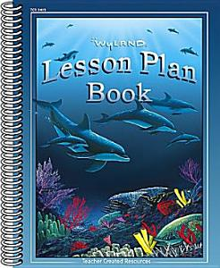 Lesson Plan Book Book