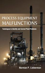 Process Equipment Malfunctions  Techniques to Identify and Correct Plant Problems