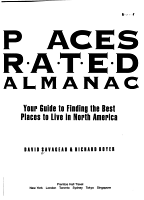 Places Rated Almanac PDF