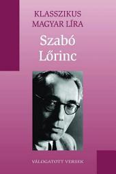 Szabó Lőrinc versei