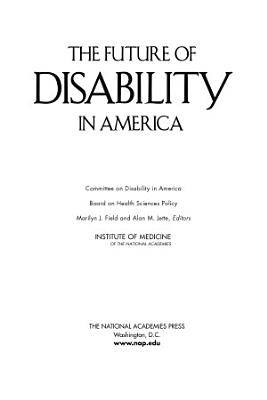 The Future of Disability in America