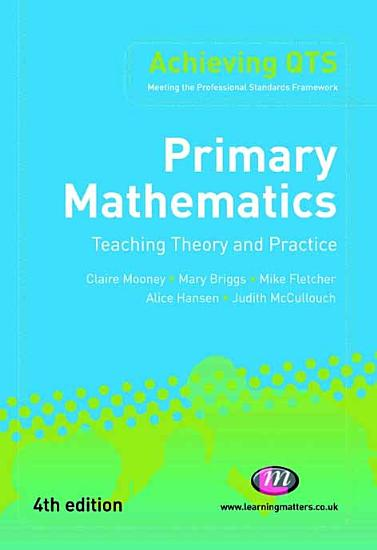 Primary Mathematics  Teaching Theory and Practice PDF