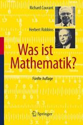 Was ist Mathematik?: Ausgabe 5