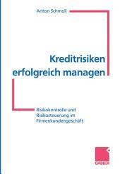 Kreditrisiken erfolgreich managen: Risikokontrolle und Risikosteuerung im Firmenkundengeschäft