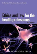 Download Ethics and Law for the Health Professions Book