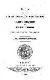 Key to the North American arithmetic: part second and part third, for the use of teachers, Parts 2-3