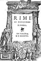 Rime. - Vinetia, 1544
