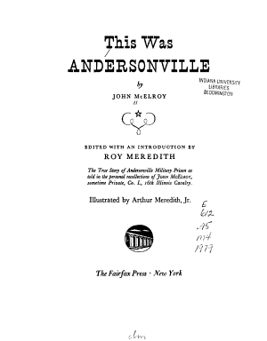 This was Andersonville PDF