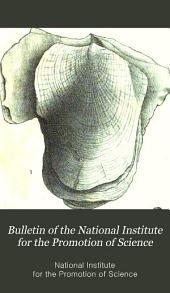Bulletin of the National Institute for the Promotion of Science: Volume 1