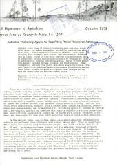 Asbestos thickening agents for gap-filling phenol-resorcinol adhesives