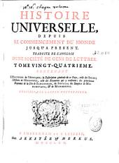 Histoire universelle: depuis le commencement du monde jusqu'a present