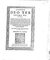 De feriis, et dilationibus: praesidibus ... D. Marsilio Koch, & D. Bernardo de Puteo ... subsequentes conclusiones, ex titulis digestorum, codicis, & decretalium ... desumptas ... publice defendet Iacobus Lom ...