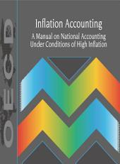 Inflation Accounting A Manual on National Accounting Under Conditions of High Inflation: A Manual on National Accounting Under Conditions of High Inflation