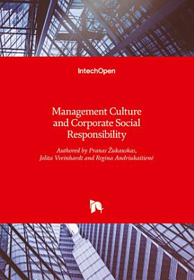 Management Culture and Corporate Social Responsibility PDF