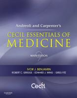 Andreoli and Carpenter s Cecil Essentials of Medicine PDF