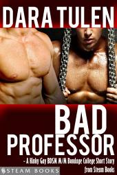 Bad Professor - A Kinky Gay BDSM M/M Bondage College Short Story from Steam Books