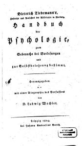 Handbuch der Psychologie