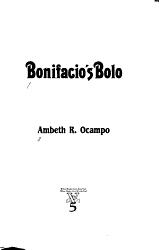 Bonifacio s Bolo PDF