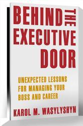 Behind The Executive Door Book PDF