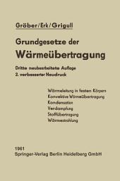 Die Grundgesetze der Wärmeübertragung: Ausgabe 2