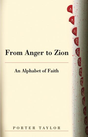 From Anger to Zion PDF