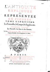 Supplément au livre de l'Antiquité expliquée et représentée en figures