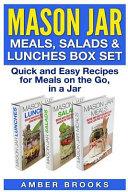 Mason Jar Meals  Salads   Lunches Box Set