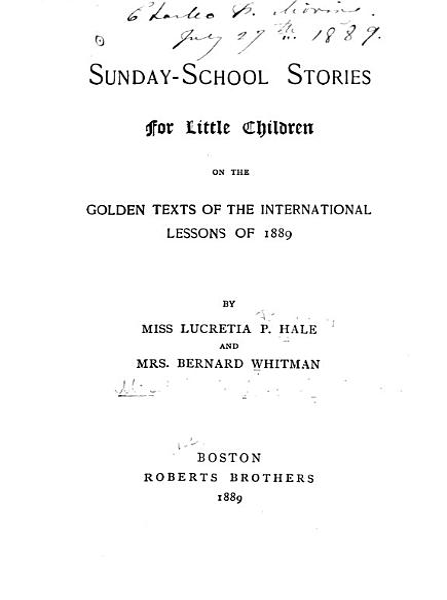 Sunday school Stories for Little Children PDF