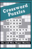 Crossword Puzzles Acts