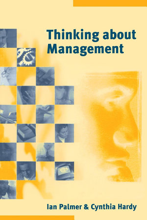 Thinking about Management PDF