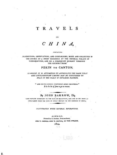 Download Travels in China Book