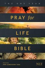 The One Year Pray for Life Bible NLT