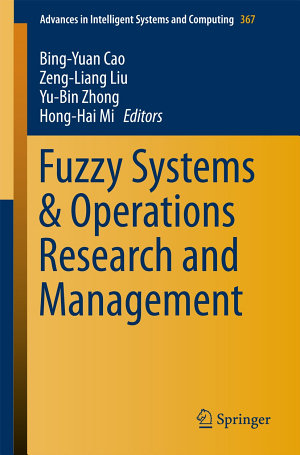 Fuzzy Systems   Operations Research and Management