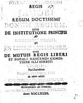 Donum Regium: sive de institutione principis, ad Henricum filium