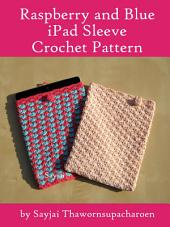 Raspberry and Blue iPad Sleeve Crochet Pattern
