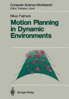 Motion Planning in Dynamic Environments PDF