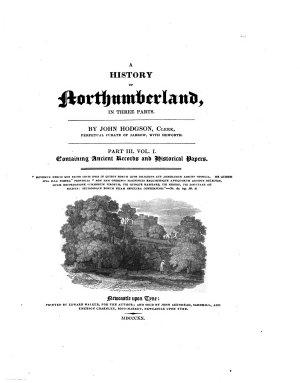 A History of Northumberland PDF
